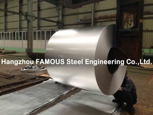 China Hot Galvanized Steel Coil ASTM 755 For Corrugated Steel Sheet supplier