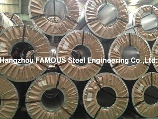 China Hot Dipped Chromated / Oiled / Galvanized Steel Coil Zinc , ASTM Steel Sheet supplier