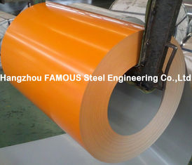 China PPGI PPGL Galvanized Prepainted Steel Coil Prepainted Galvalume , Grade A ASTM supplier