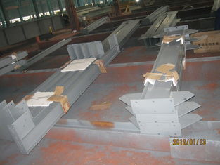 China Structural Steel Fabrication Industrial Steel Buildings For Warehouse Frame supplier