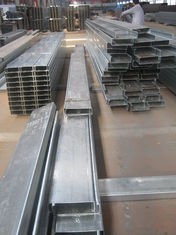 China Anti-rust paint C Z Purlin Galvanised Steel Purlins Fabricated By Hongfeng supplier