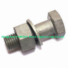 China Hex Bolts Steel Buildings Kits For Steel Frame Building And Bridge Construction supplier