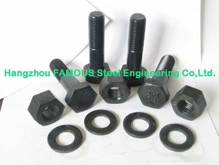 China Heavy Hex Structural Bolts Steel Buildings Kits With Alloy Steel And ASTM supplier