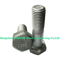 China Steel Buildings Kits Hex Bolt With Carbon Steel ASTM A325 A490 Bolt supplier