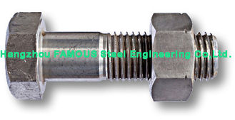 China Hexagon Head Steel Structure Bolt Steel Buildings Kits , Bolts And Fasteners supplier