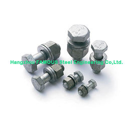 China Hot Dip Galvanized Steel Buildings Kits Hexagon Socket Head Bolt , Metal Buildings Kits supplier