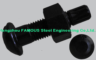 China Steel Buildings Kits Black Bolts And Fasteners With High Tension Hex Bolts supplier