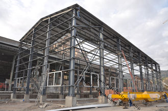 China Q235, Q345 Industrial Steel Buildings For Steel Workshop Warehouse supplier