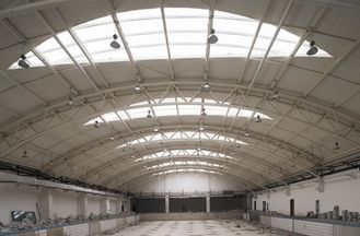 China Portal Frame And Truss Structure Industrial Steel Buildings Design And Fabrication supplier