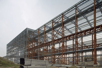 China Optimized Industrial Steel Buildings Warehouse Fabrication For Agricultural supplier