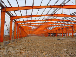 China Customized Warehouse Industrial SteelBuilding Design And Fabrication supplier