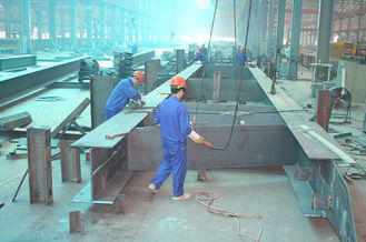 China Modular Industrial Steel Buildings Fabrication According To Your Drawings supplier