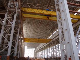 China Wide Span High Eave Pre-Engineering Industrial Steel Warehouse Workshop Buildings supplier