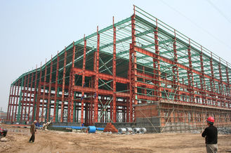 China Industrial Steel Buildings Structural Steel Plants Design And Fabrication supplier