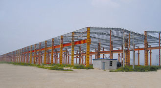 China ASTM AS JISG Various Standards Industrial Steel Building Design And Fabrication supplier