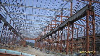 China Prefab Industrial Steel Buildings Design And Fabrication With CE / ISO supplier