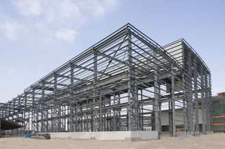 China Affordable Pre-engineering Industrial Steel Buildings Fabrication For Export supplier