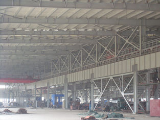 China Prebuilt Industrial Steel Buildings Steel Plateform Design And Fabrication supplier
