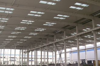 China Excellent Anti-corrosion Industrial Steel Buildings With Hot Dip Galvanization supplier