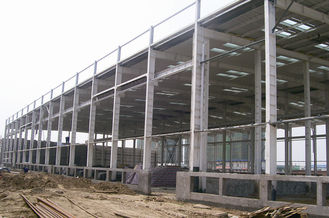 China Steel Structure System Of Industrial Mine Platform Industrial Steel Buildings supplier