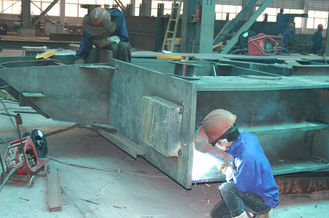 China Structural Steel Buildings Frames Fabricated By Cutting , Drilling , Welding supplier