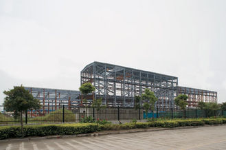 China Prefab Industrial Steel Buildings Fabrication With Low Maintenance supplier