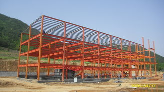 China Optimized Prefab Industrial Steel Buildings With Minimum Steel Quantity Used supplier
