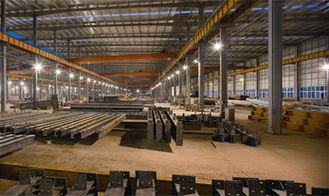 China Metal Structure Frame Made Plant For Industrial Workshop Warehouse supplier