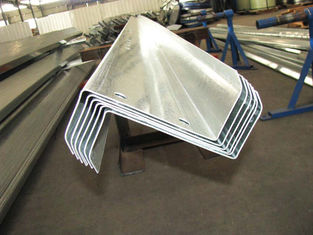 China Customized Galvanizing Steel Purlins With Zed / Cee Purlin And Girt Fabrication supplier