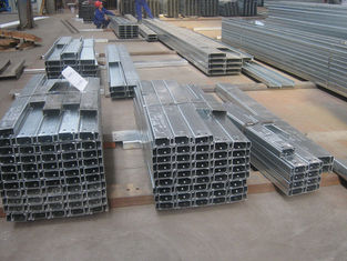China C Z Profile Wall And Roof Galvanised Steel Purlins With Accurate Dimension supplier