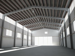 China H-section Industrial Steel Buildings Design And Fabrication Q235, Q345 supplier