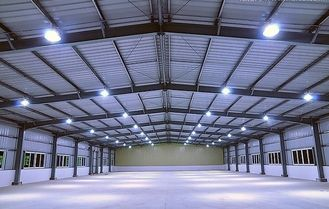 China High Standard Industrial Steel Buildings Design And Fabrication With Strict Inspection supplier