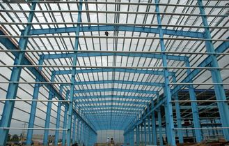 China Hot-Rolled h-Section Industrial Steel Buildings Design And Fabrication supplier