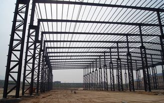 China Customized Pre-engineering Industrial Steel Buildings Adaptive To Various Design Standard supplier