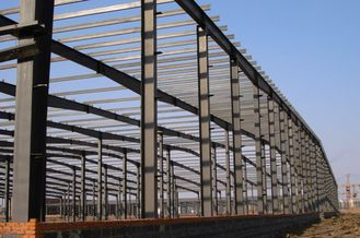 China Industrial Steel Buildings Components Fabrication For Waste Transfer Stations supplier