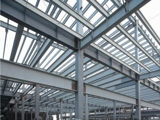 China Prefab Industrial Steel Buildings Components Fabrication , Commercial Steel Buildings supplier