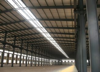 China Q345 High Strength Industrial Steel Building Fabrication With Experienced Team supplier