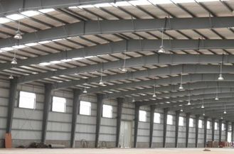 China Textile Factories Industrial Steel Buildings Fabrication With Q235, Q345 supplier