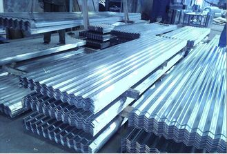 China Galvalume Galvanized Prepainted Metal Roofing Sheets For Workshop AZ Z supplier