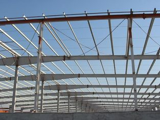 China Light Weight Metal Industrial Steel Buildings Used As Steel Shed And Storage supplier