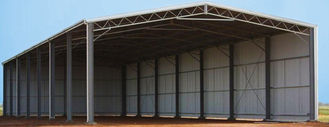 China Prefabricated Total Metal Industrial Steel Buildings Without Concrete supplier