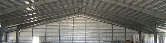 China Prefab Metal Industrial Workshop Design And Fabrication , Industrial Steel Buildings supplier