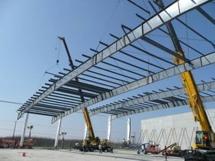 China Excellent Industrial Steel Structure Buildings With Memory Calculation supplier
