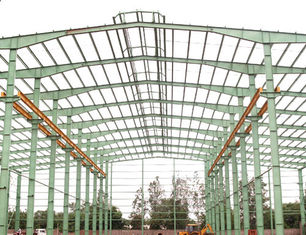 China Professional Industrial Steel Structure Buildings With A Set of Mature System supplier