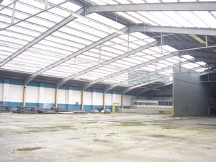 China Industrial Steel Buildings Fabrication With Mature QC Process supplier