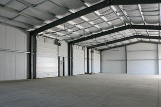 China Q235 / Q345 Industrial Steel Buildings Contract With Mature Checking System supplier