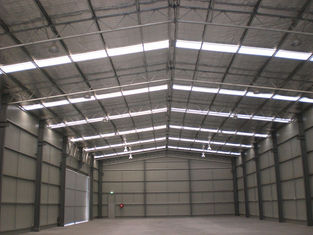China High Level Industrial Steel Buildings Contract And Subcontract With Galvanised supplier