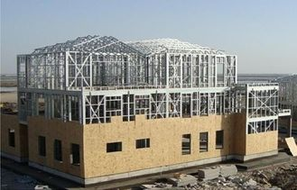 China Q235 H-beams Heavy Weight Industrial Steel Buildings Hall With Modern Design supplier