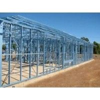 China Multi-functional Metal Warehouse Industrial Steel Buildings With Single Span supplier