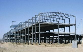 China Heavy Weight / Long Length Multi-storey Steel Building With Prefab Steel Structure supplier